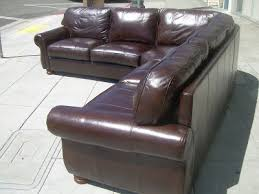 Thomasville Leather Sofa And Loveseat by Uhuru Furniture U0026 Collectibles Sold Thomasville Leather