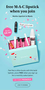 Birchbox Coupon Code: FREE M•A•C Lipstick, Stickers & Pouch ... Steps To Apply Club Factory Coupon Code New User Promo Flat Vector Set Design Illustration Codes For Monthly Discounts Wwwroseburnettcom Free Coupon Codes For Victorias Secret Pink Blitzwolf Bwbs3 Sports Tripod Selfie Stick Pink 1499 Emilio Pucci Printed Bikini Women Coupon Codes Beads On Sale Code Norfolk Dinner Cruise Big Shoes Soda Sport Pop Slides Womens Grey Every Month We Post A Only Fritts Creative Cheetah Adderall Coupons Shire 20 Off Monday Totes Promo Discount Pretty In Sale Use Prettypink15 15
