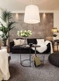 interessante moderne wohnzimmer wandgestaltung graue