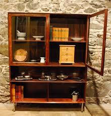 95231 Danish Mid Century Modern Rosewood Display Cabinet
