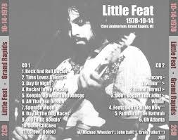 t u b e little feat 1978 10 14 grand rapids mi sbd flac