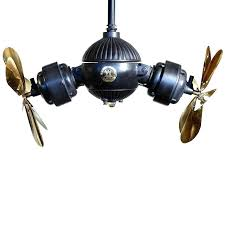 double ceiling fan traditional gyro dual outdoor fans lights head