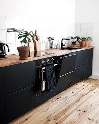 blackkitchen ikea kitchen metod kungsbacka küche