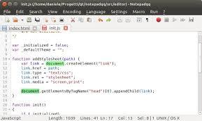 install notepadqq notepad like editor in ubuntu 14 04 15 04