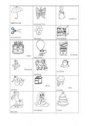 English Worksheet First Cliparts And Coloring Pages For Kids
