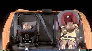crash test siege auto 0 1 crash test frontal kiddy smartfix y cosatto hold con isofix base
