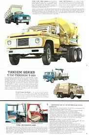 100 Ford Trucks Through The Years 1962 Truck Full Line Brochure