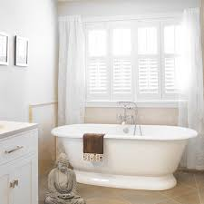 Design Bathroom Window Treatments by 7 Different Bathroom Window Treatments You Might Not Have Thought