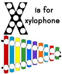 X is for Xylophone with free printable