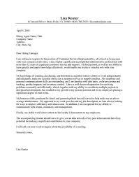 customer service rep cover letter fancy client service