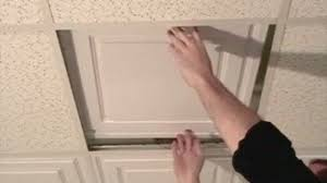 Cutting Genesis Ceiling Tiles by Ceiling Tile Edge Trim Diy Video Dailymotion