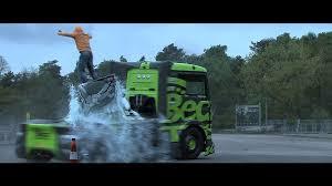 100 Wolfpack Trucking 1100 Horsepower Semi Truck Driver Doing Crazy Drifts Stunts On A