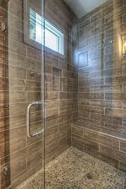 best 25 pebble shower floor ideas on grey tile shower