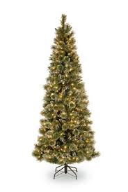 Christmas Tree 75 Pre Lit by Slim Pre Lit Christmas Trees Amazon Com