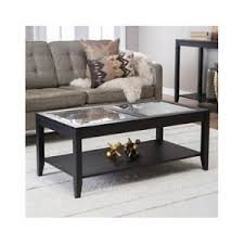Image Is Loading Coffee Table Glass Top Quality Quatrefoil Underlay Furniture