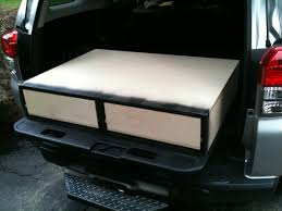 Truck Bed Storage Drawers Pictures : DIY Truck Bed Storage Drawers ... Desk To Glory Drawers And Sleeping Gallery Also Truck Bed Platform Storage Diy Plans Rockland Custom Products Tactical Division Rock Solid Weapons Toyota Tacoma Owner Turns His Car Into A Handmade Rv Aoevolution Decked System Diy Bedroom Ideas And Ipirations Drawer Slides Fniture Box Cptl Single Troy Gladiator Gawb06mtzg Garage Bins Over The Wheel Well For Trucks Hdp Models