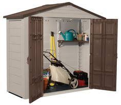 Suncast 7 X 7 Alpine Shed by 1300 Suncast 8x3 Resin Plastic Storage Shed W Floor Diy