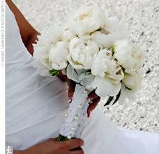Peony Bouquets White Wedding Source Mediatheknot