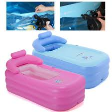Portable Bathtub For Adults Philippines by Spa Pvc Folding Portable Blowup Bathtub Warm Inflatable Bath