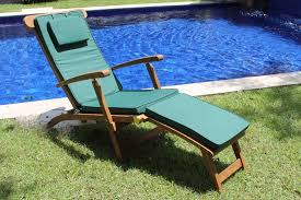 Steamer Chair Cushions Canada by Teak Steamer Lounge Chair Cushions Home Design Mannahatta Us