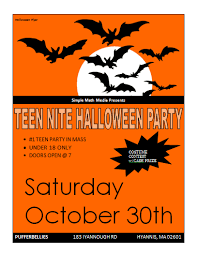 Halloween Potluck Invitation Templates by 20 Free Carnival Flyer Templates Demplates