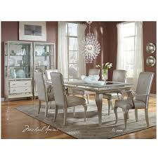 hollywood loft frost 5 piece formal dining set el dorado furniture