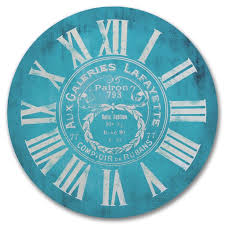 Blue Clock Comes In Seven Sizes 12 60 And Can Be