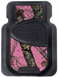 licensed mossy oak pink camo auto truck accessory 11 pc set