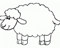 Pic Of Playing Volleyball Lamb Coloring Pages