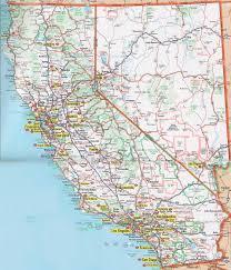 Detailed Road Map Of Cali California Printable