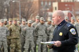D C Metropolitan Police Department hiring National Guard sworn