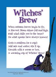 Poems About Halloween For Kindergarten by Best 25 Witches Brew Ideas On Pinterest Fall Smells Bites And