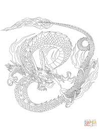 Epic Chinese Dragon Coloring Pages About Remodel Online With
