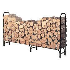 LANDMANN 8 ft Firewood Rack The Home Depot
