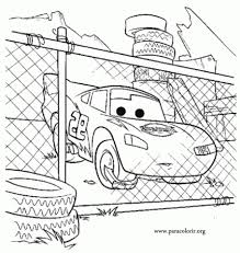 Online Lightning McQueen Coloring Pages 358887