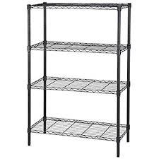 Storage Cabinets Black Shelves Metal Shelving Home Depot Clothes Jeans Living Room Underwear Undershirt