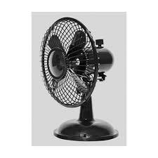Oscillating Usb Desk Fan by Cz5usbbk 6 Inch Oscillating Usb Battery Desk Fan Black
