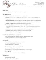 Game Design Resume Examples With Resumes For Prepare Perfect Video Sample