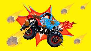 100 Spiderman Monster Truck S Racing Battle Cartoon Cars For Kids