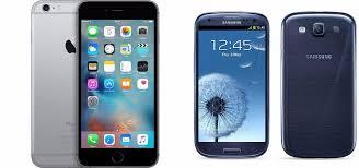 Apple iPhone 6s vs Samsung Galaxy S3