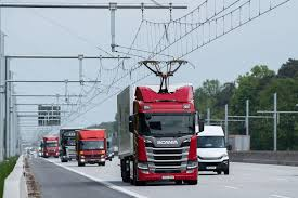 100 Free Truck Germanys First EHighway Allows Electrified Trucks To