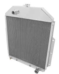 100 Chevy Truck Performance Parts Champion Three Row Aluminum Radiator For 19421952 Ford W