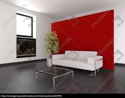 lizenzfreies bild 6237995 moderne wohnzimmer mit roten wand