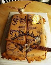 happy 9th birthday p harry potter karten kuchen