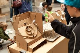 Cardboard Arcade For Kids