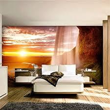 tapeten eigene 4d wallpaper im querformat sun wasserfall