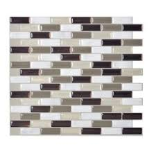 smart tiles muretto beige 10 25 in w x 9 125 in h peel and stick