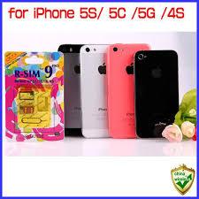 For Iphone 5s 5c 5g 4s Genuine R Sim 9 Pro Unlock Ios7 Ios5
