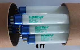 lightingwise 4 ft 6500k t5 ho fluorescent grow light