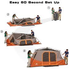 Ozark Trail Instant 13' X 9' Cabin Camping Tent, Sleeps 8 - Walmart.com Napier Truck Tent Compact Short Box 57044 Tents And Ozark Trail Kids Walmartcom 2person 4season With 2 Vtibules Full Fly 7person Tpee Without Center Pole Obstruction The Best Bed December 2018 Reviews Camping Smittybilt Ovlander Xl Rooftop Overview Youtube Instant 13 X 9 Cabin Sleeps 8 3 Room Tent Part 1 12person Screen Porch Lweight Alinum Frame Bpacking Person Room